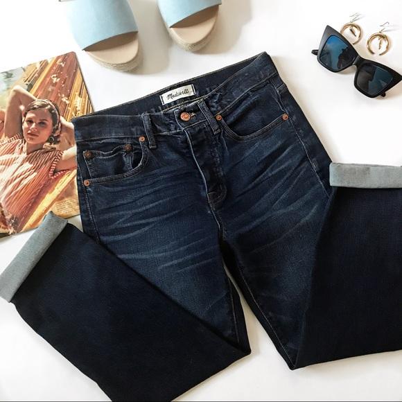ccc899aca8a Madewell Jeans | Cruiser Straight Crop Shane Wash | Poshmark